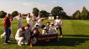 Old Owens 1st XI v Knebworth Park Ist XI
