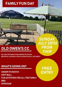 Old Owens C.C. Family Fun Day
