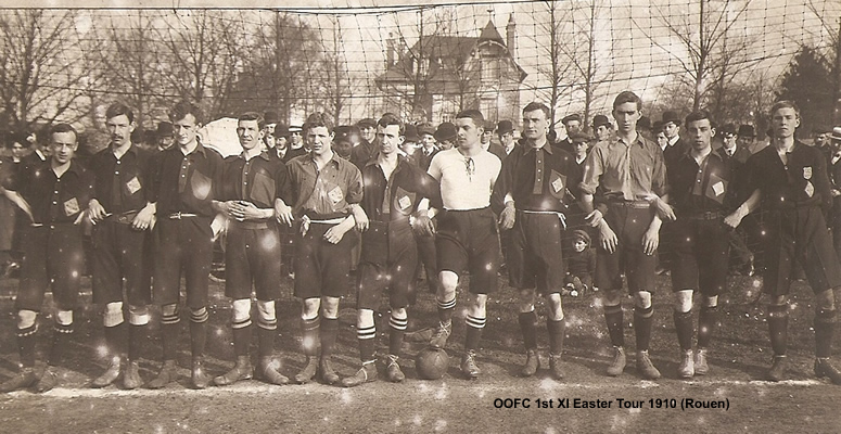 OOFC-1st-XI-Easter-Tour-1910-Rouen